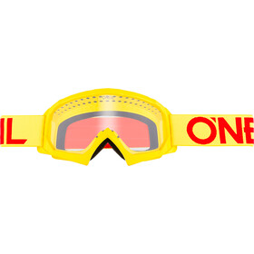 O'Neal B-10 Goggles Barn solid neon yellow/red